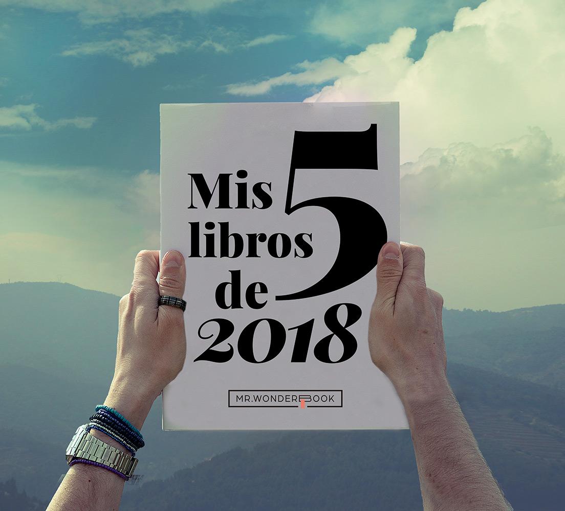 Mis 5 libros de 2018