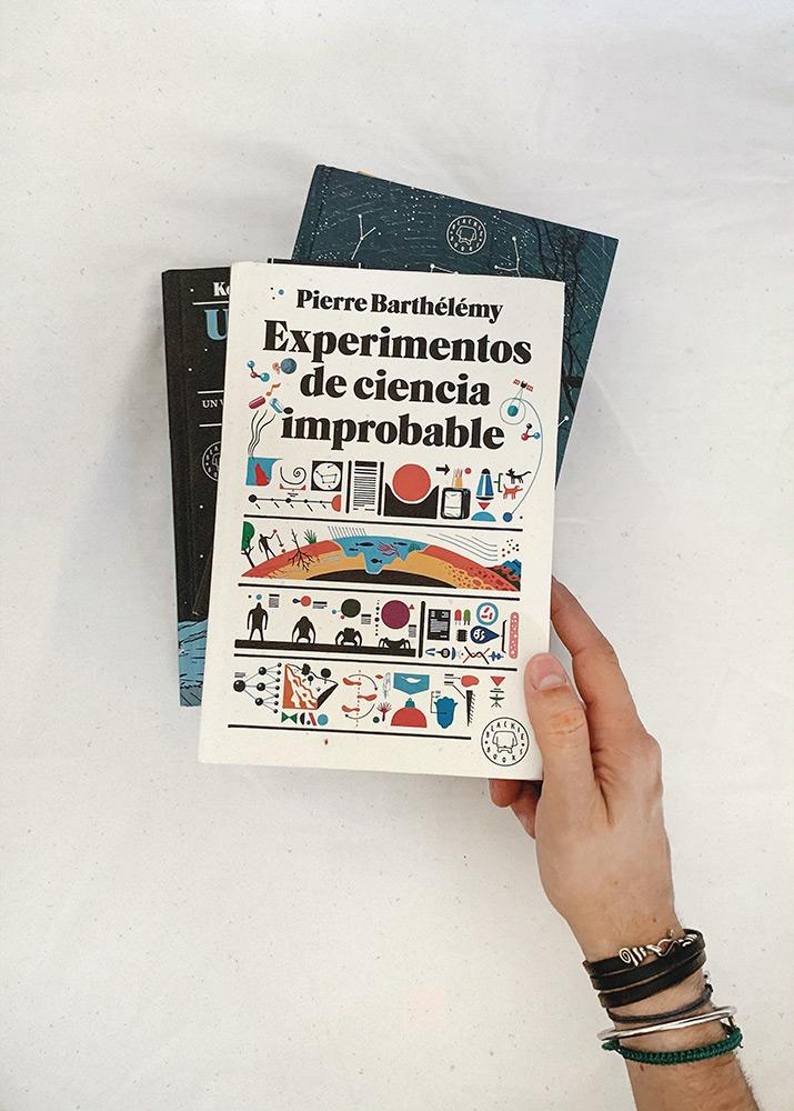 Reseña: Experimentos de ciencia improbable. Pierre Barthélémy