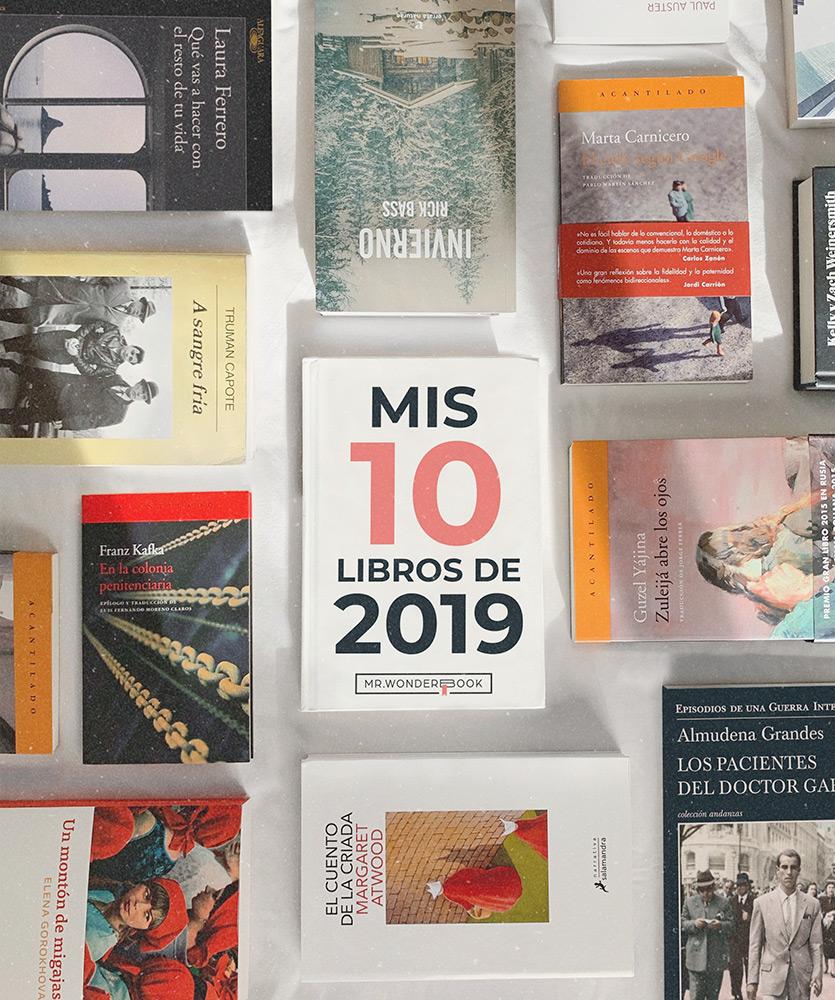 MrWonderbook - Mis 5 libros de 2019