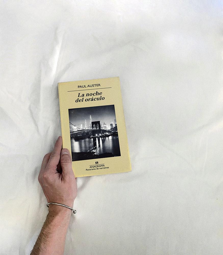 Reseña: La noche del oráculo. Paul Auster
