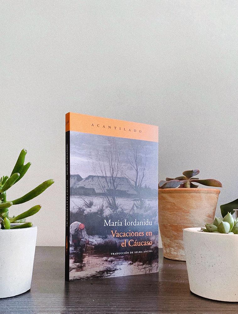 Reseña: Vacaciones en el Cáucaso. María Iordanidu