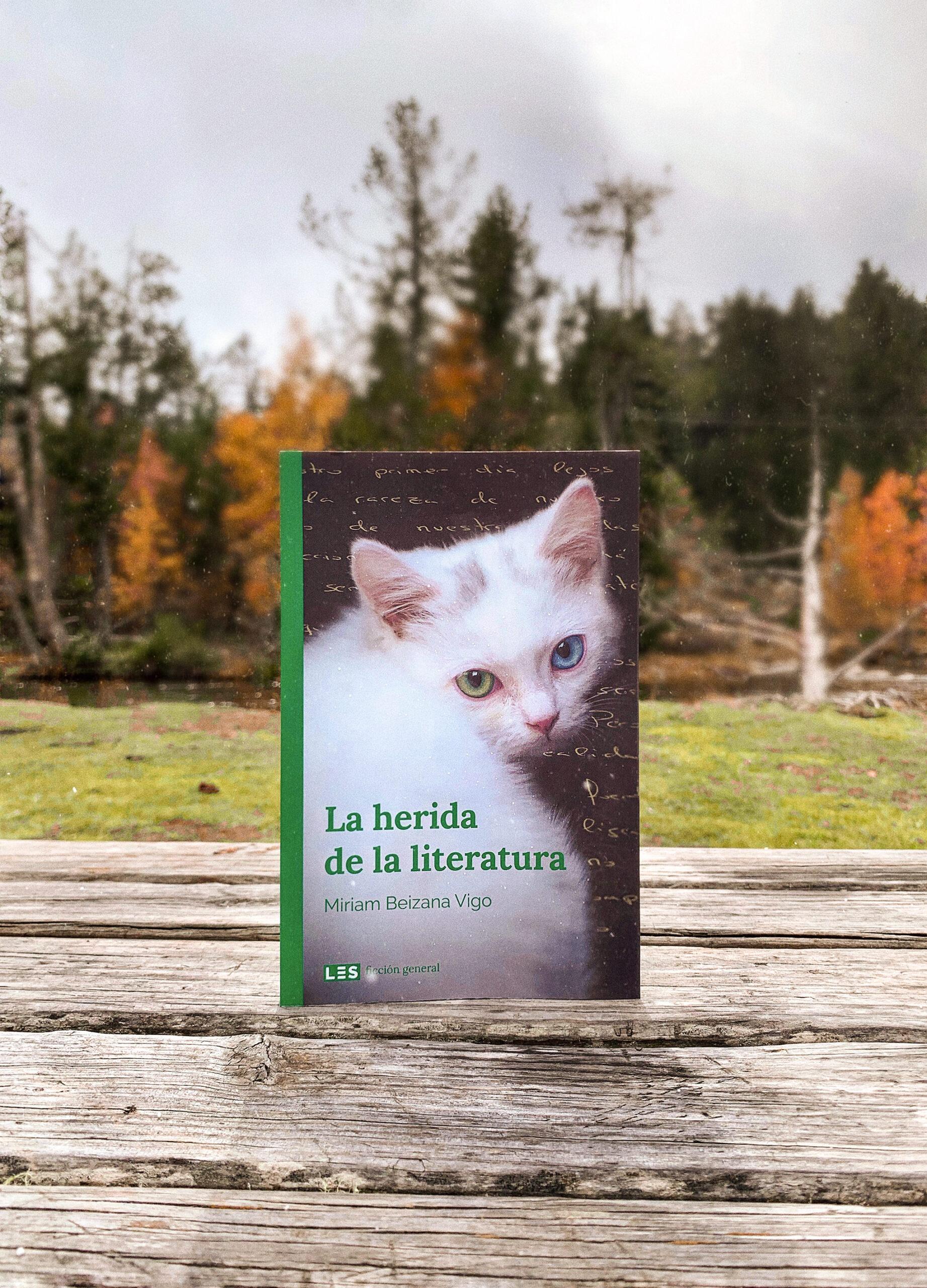 Reseña: La herida de la literatura. Miriam Beizana