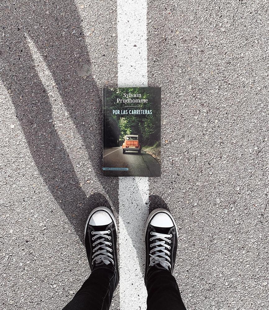 Reseña: Por las carreteras. Sylvain Prudhomme